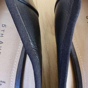 5th avenu Shoes - 5th Avenu  women black genue leather dress shoes